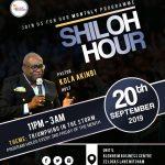 September 2019 - RCCG Thorp Pastor Kola Akinbi